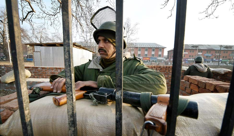 Image result for tight security in jk