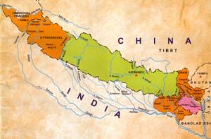 map-nepal-india-china