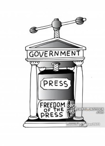 The Government and the Freedom of the Press.