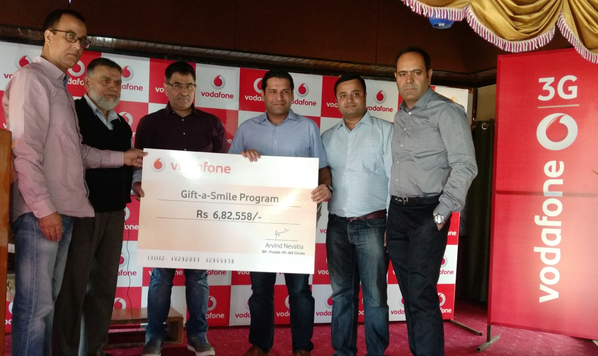 VODAFONE FACILITATES EDUCATION OF UNDERPRIVILEDGED CHILDREN IN