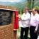 Samoon lays foundation stone of 6.30cr Trout project at Shokbaba, stockes 6000 rainbow seed